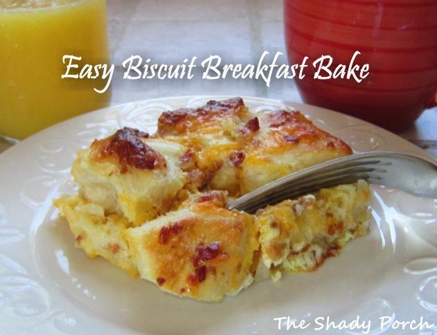 Easy Biscuit Breakfast Bake