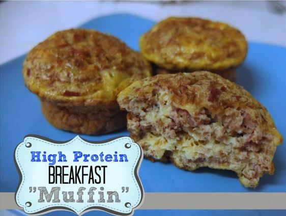 High Protein Breakfast Muffin