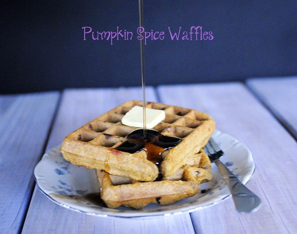 Pumpkin Spice Waffles & Pumpkin Spice Bars