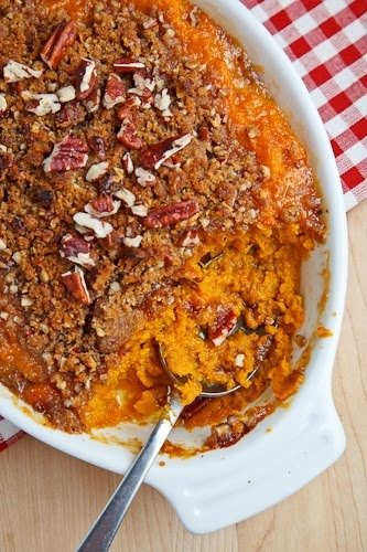 butter sauce mashed potato sweet potato and sage butter casserole ...