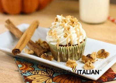 caramel-apple-spice-cupcake