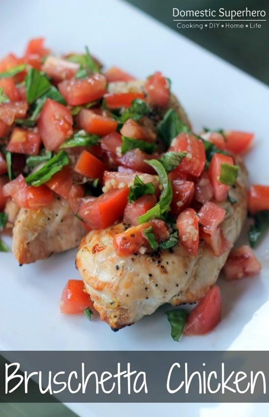 Skinny Bruschetta Chicken