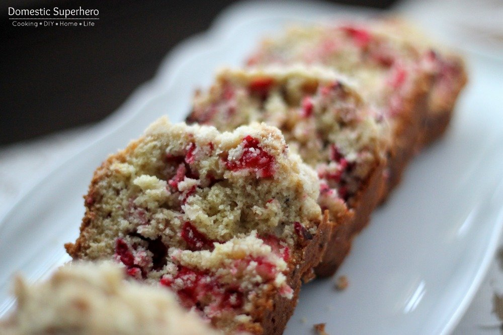 Cranberry Walnut Bread is delicious and festive for the holidays. This ...