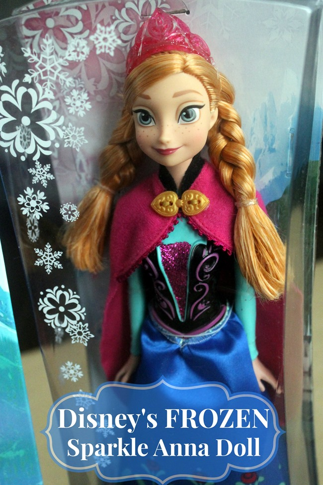 Disney's Frozen Anna Doll!! #FrozenFun, #shop, #cbias