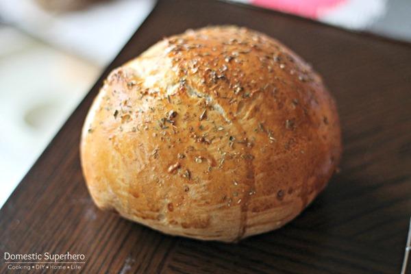 Easy Homemade Bread Bowls 4