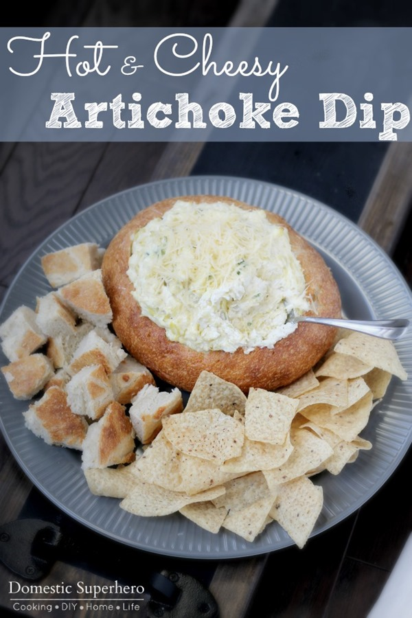 Hot and Cheesy Artichoke Dip