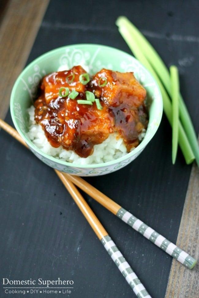 General Tso's Tofu 2