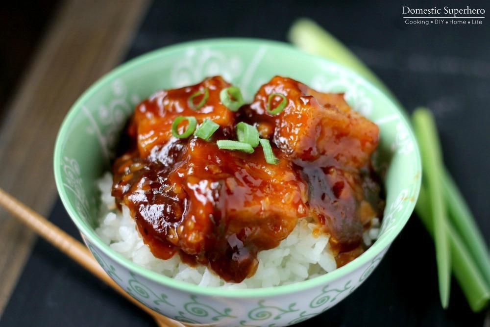 General Tso's Fried Tofu Sub Recipes — Dishmaps