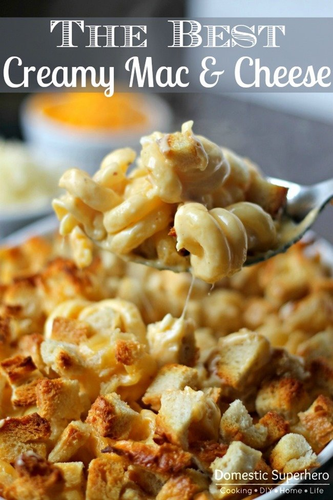 The Best Ever Creamy Mac Cheese