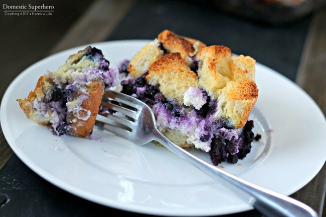 Overnight Blueberry Stuffed French Toast 3