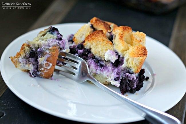 Overnight Blueberry Stuffed French Toast 3