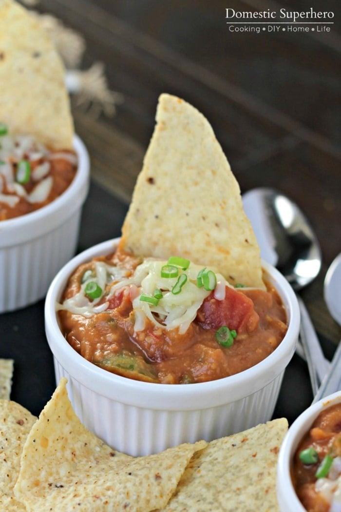 Vegetarian Nacho Soup 4