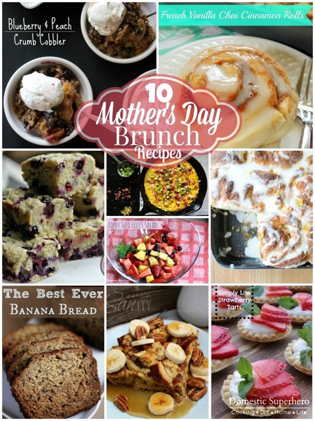 10 mother's day brunch recipes - domestic superhero