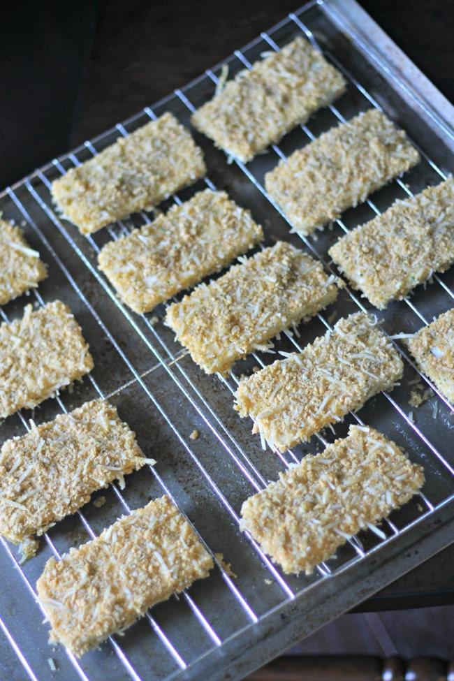 Baked Tofu Parmesan