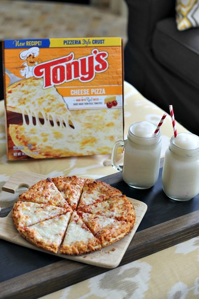 Stay At Home Date Night W Tony S Pizza Mocktails
