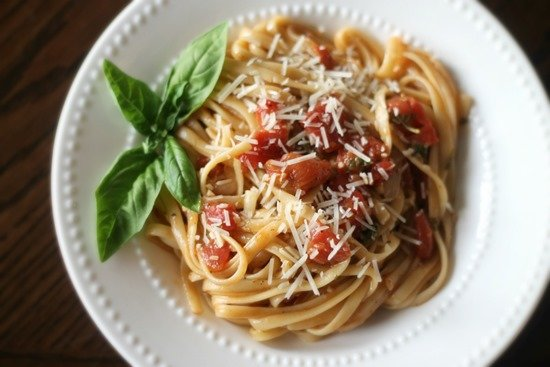 One Pot Wonder Tomato Basil Pasta 5