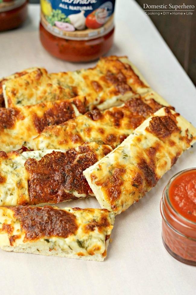 3 Herb Garlic Cheesy Bread 4