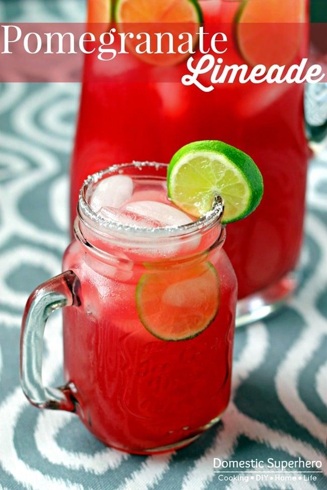 Pomegranate Limeade