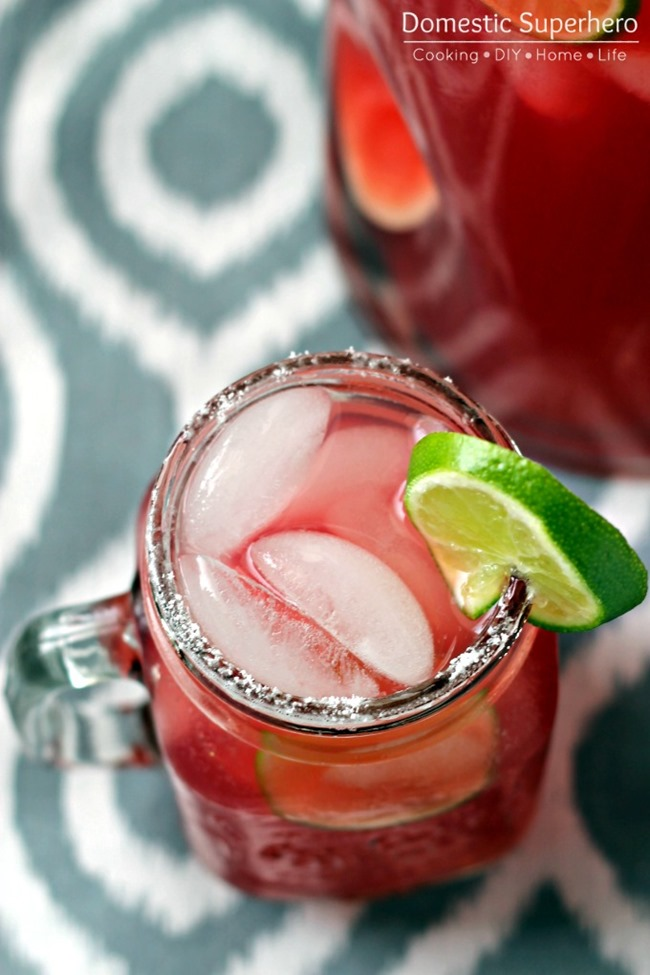 Pomegranate Limeade