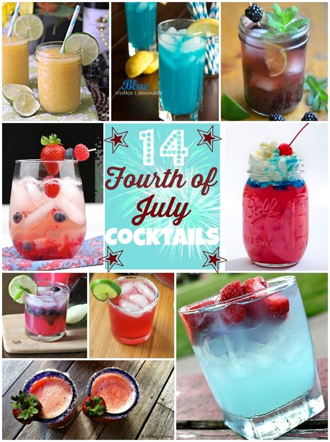 14 4th of July Cocktails