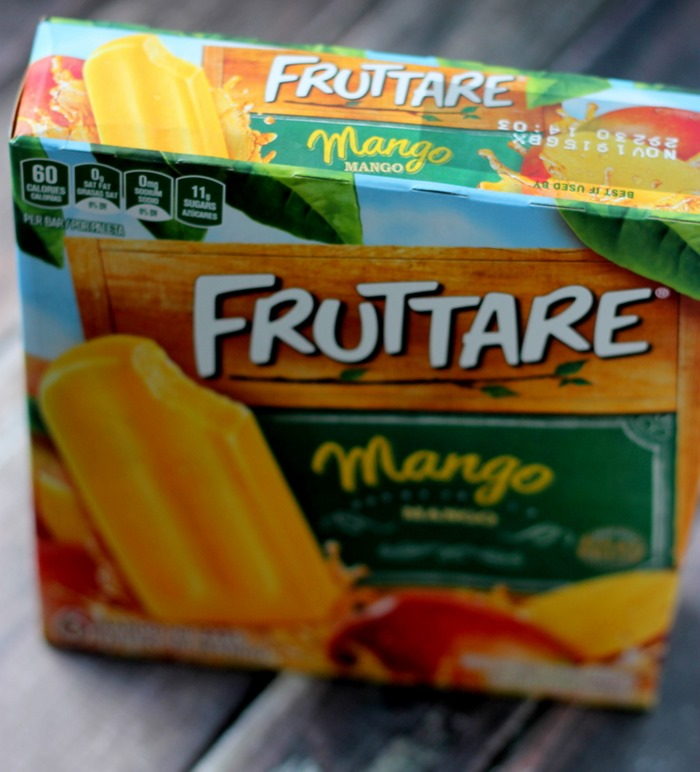 Fun with Fruttare Frozen Fruit Bars