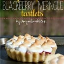 Gluten Free Blackberry Meringue Tartlets by Anyonita Nibbles