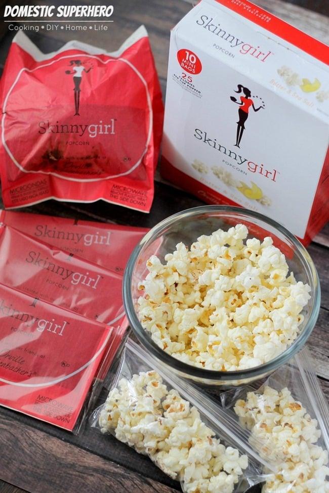 Healthy Snacking with Skinnygirl Popcorn • Domestic Superhero