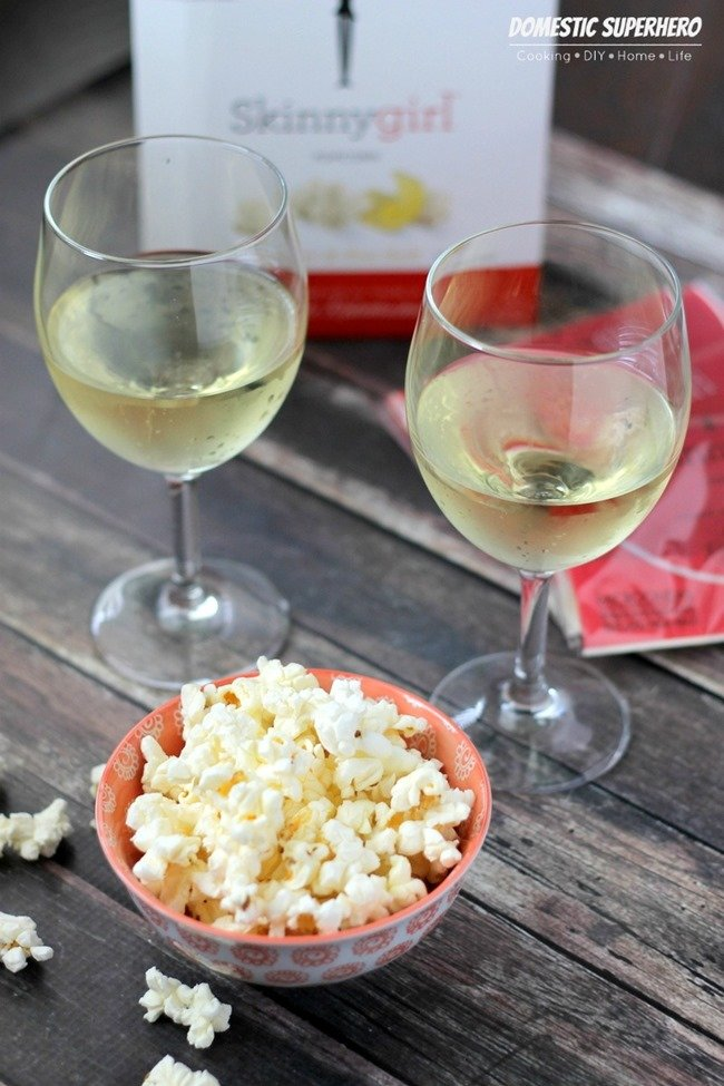 Healthy Snacking with Skinnygirl Popcorn