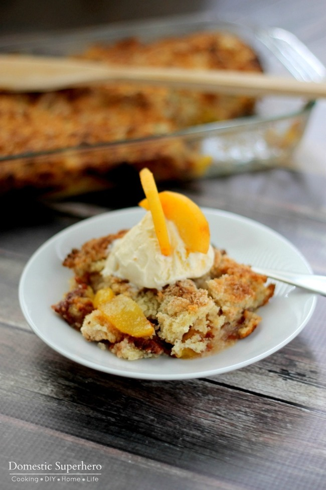 Fresh Peach Crumble 2