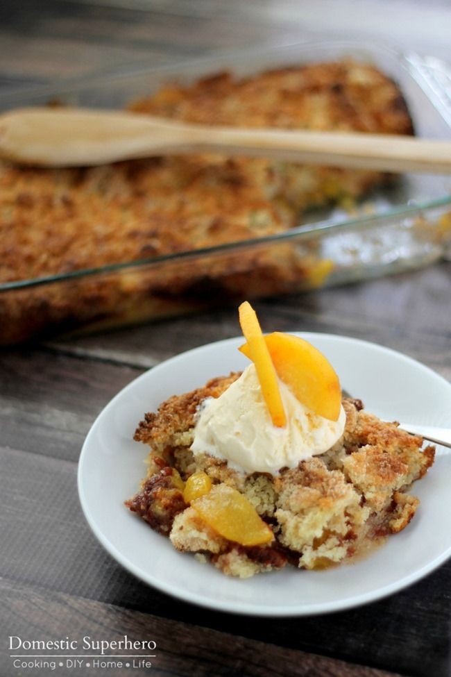 Fresh Peach Crumble 4