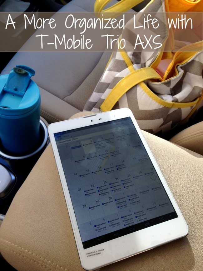 A More Organized Life with T-Mobile Trio AXS