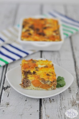 01 - Just Us Four - Paleo Overnight Breakfast Casserole
