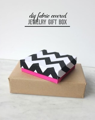 04 - Mod Podge Rocks - Fabric Covered DIY Gift Box