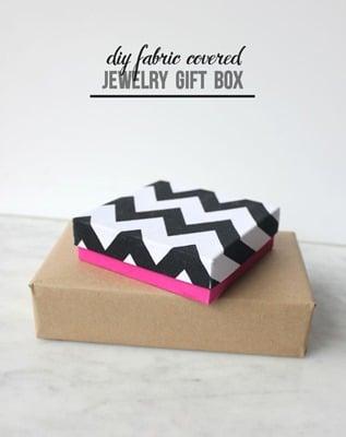 04 - Mod Podge Rocks - Fabric Covered DIY Gift Box