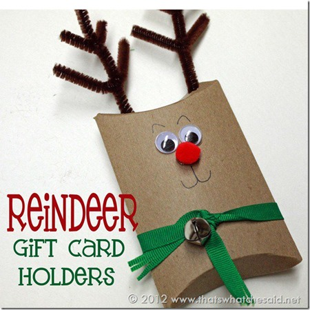 09- Thats What Che Said - Raindeer Gift Card Holders