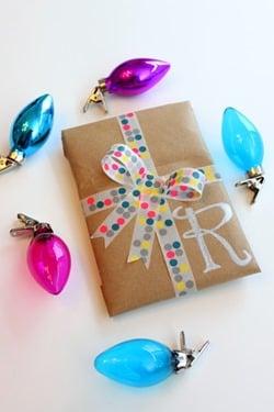 15 - Elizabeth Doo Dah - Washi Tape Gift Wrap