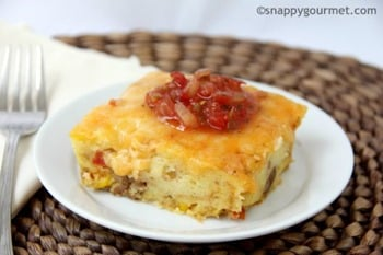 15 - Snappy Gourmet - Mexican Sausage and Cornbread Strata