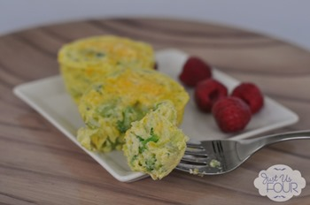 16 - Just Us Four - Broccoli and Cheese Egg Muffins