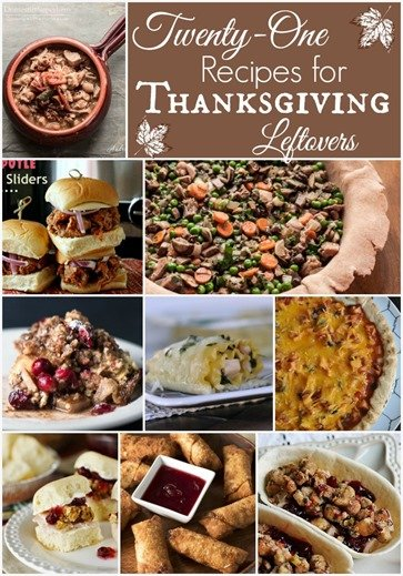21 Recipes for Thanksgiving Leftovers