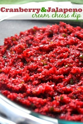 Cranberry-and-Jalapeño-Cream-Cheese-Dip