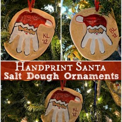 handprint santa salt dough ornament diy 6693