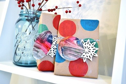 Mod Podge Gift Wrap
