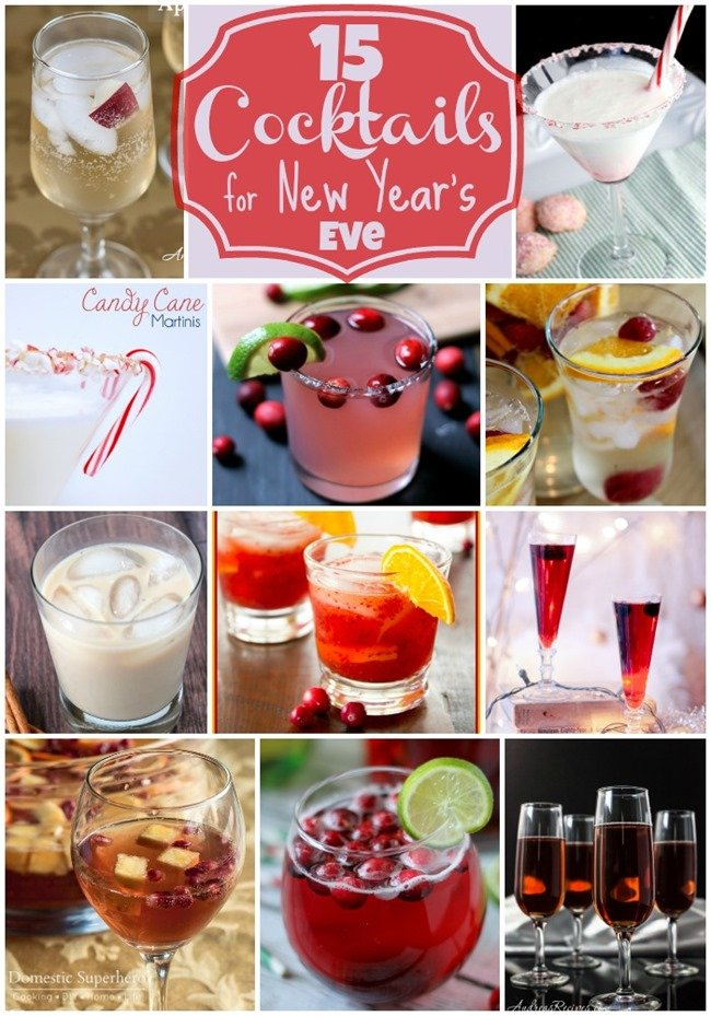 15 Cocktails for New Year's Eve