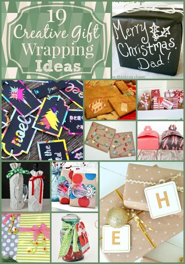 19 Creative Gift Wrap Ideas