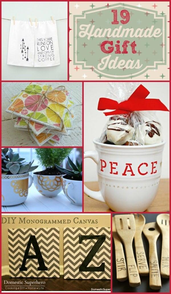 19 Handmade Gift Ideas