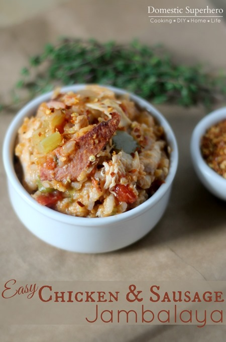 Easy Chicken and Sausage Jambalaya