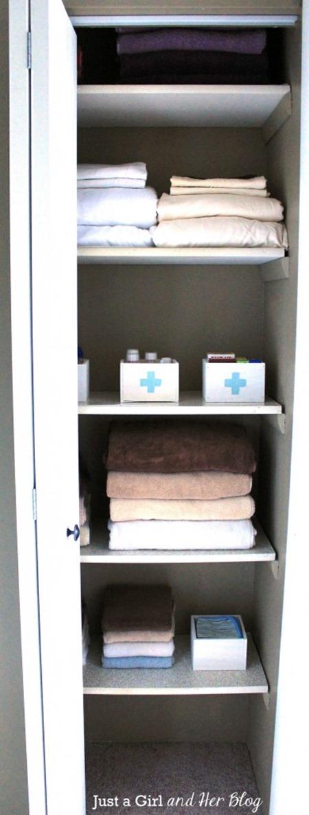 Home Tips - Linen Closet