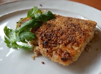Pecan Crusted Halibit 8