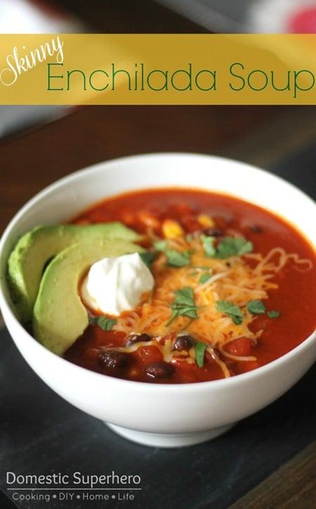 Skinny Enchilada Soup 2