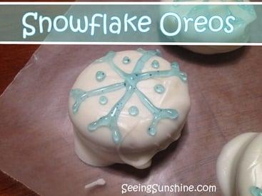Snowflake-Oreos